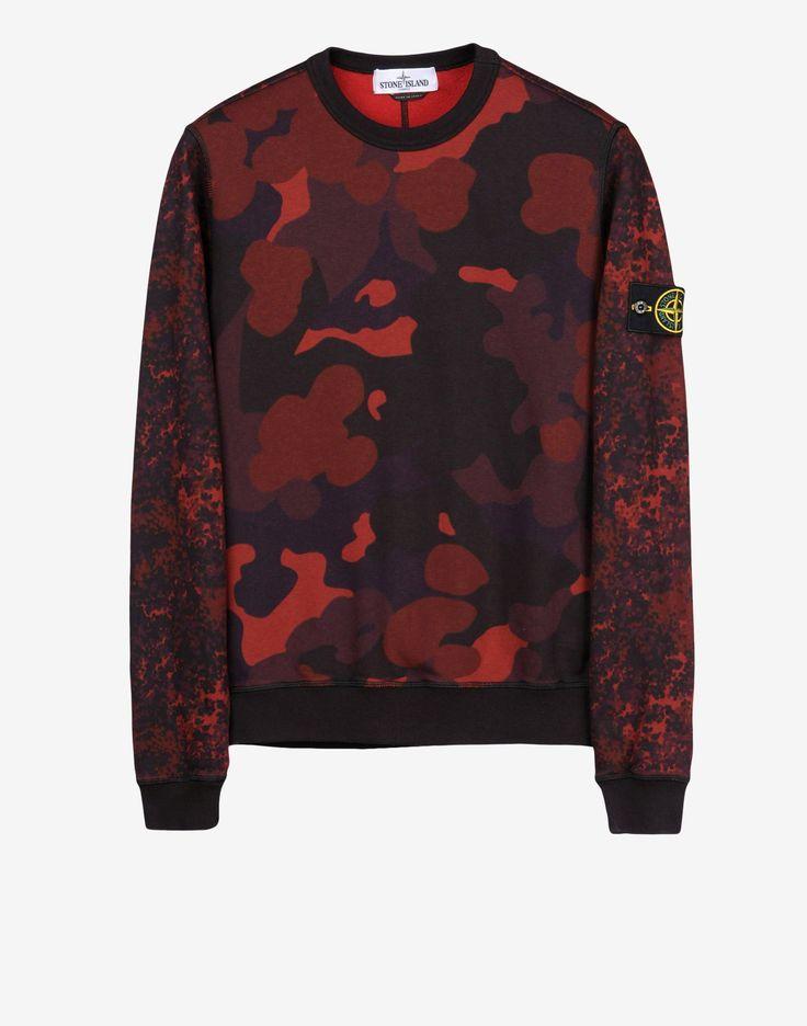 63438 Sweatshirt Stone Island Men -Stone Island Online Store