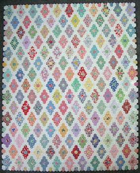 248 best Hexagons and six pointed star quilts! images on Pinterest ... : hexagon star quilt pattern - Adamdwight.com