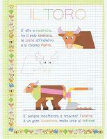 Schede didattiche del Maestro Fabio per la scuola primaria. Giochiecolori.it: CORNICETTE E FILASTROCCHE PER BAMBINI (GLI ANIMALI DELLA FATTORIA)