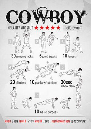 Cowboy Workout                                                                                                                                                                                 Mais