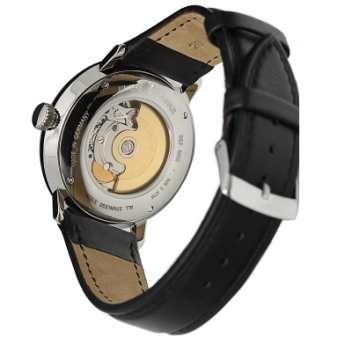 Reloj Junkers Automático, Movimiento Suizo, ETA-2824, Reloj Hombre, Calendario, Esfera color negra, Correa piel antialérgica negra. Junkers 6050-2. http://www.tutunca.es/reloj-junkers-bauhaus-automatico-negro