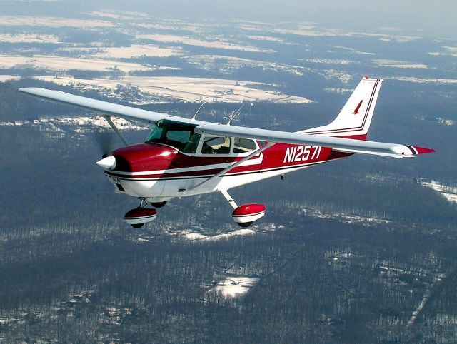 Cessna 172! Used to fly hours with