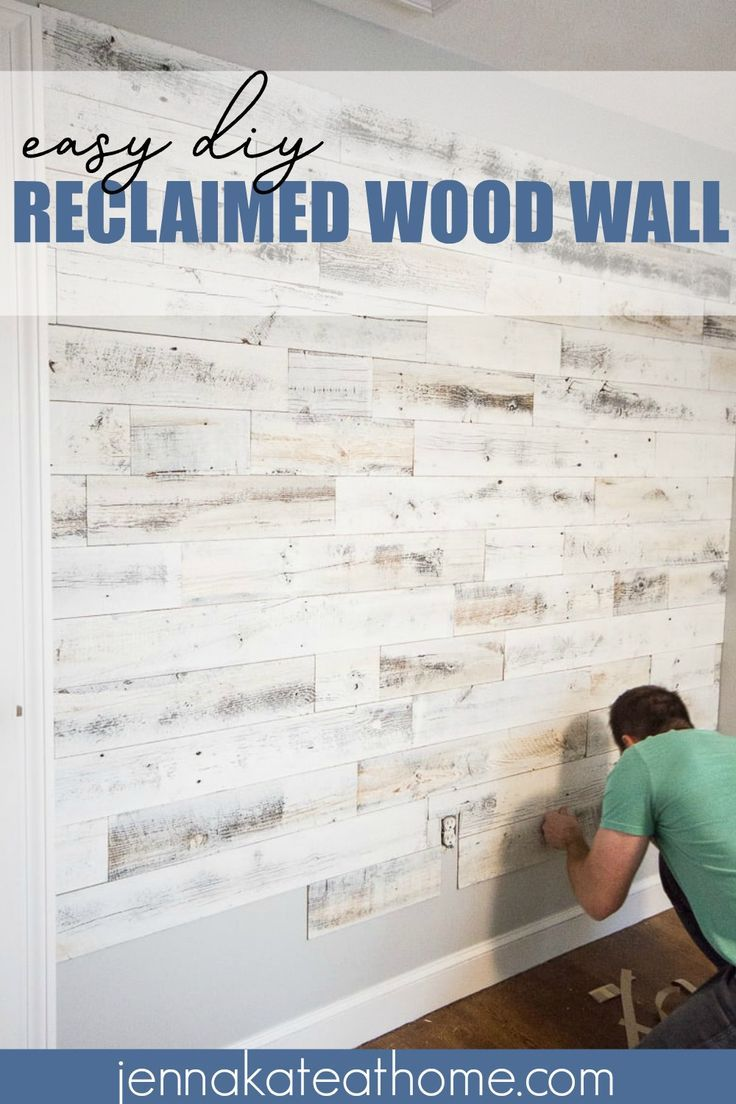 Adding A Reclaimed Wood Accent Wall To Room Is An Easy Way Add Interest Any Whether It S Bedroom Living Or Even Ceiling