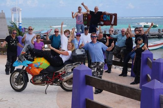 "All the crew! See all the stories about that motorcycling nirvana called Mexico on our Ferris Wheels Motorcycle Safaris Tacos 'n' Tequila tour. Just go to motorbike writer.com and search for ""Mexico""."