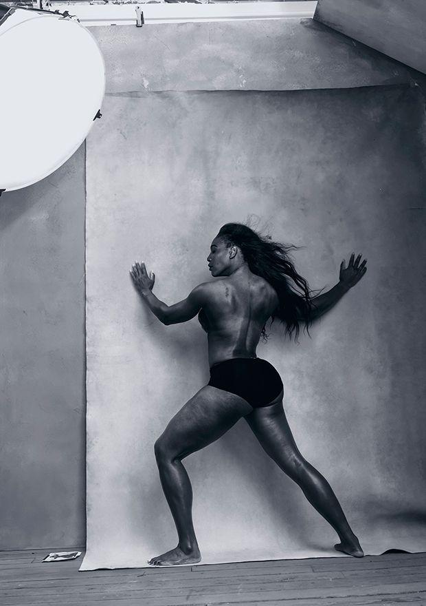 Serena Williams para Calendário Pirelli 2016;