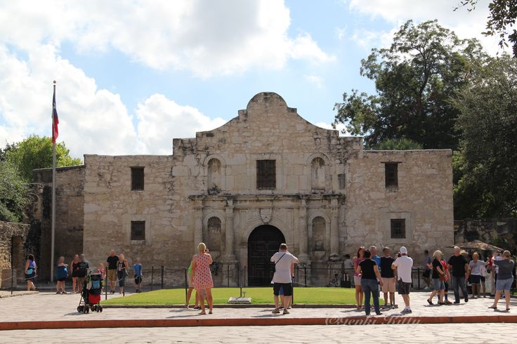 The Alamo Mission in San Antonio, Texas