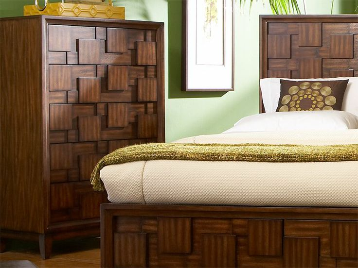 The Campton chest is a part of the unique retro-contemporary Campton collection, with a three dimensional patchwork design in a beautiful tobacco brown finish.: Patchwork, Retro Contemporary Campton, Brown Finish, Unique Retro Contemporary, Bedroom Furniture, Beautiful Tobacco, Campton Chest, Campton Collection, Bedrooms Furniture