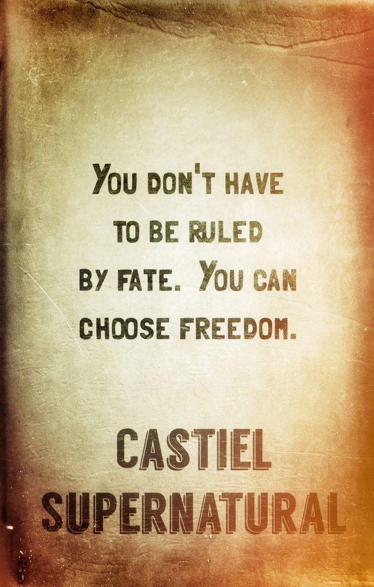 Castiel wisdom...supernatural quotes | Wisdom. | Pinterest ...  Castiel wisdom....