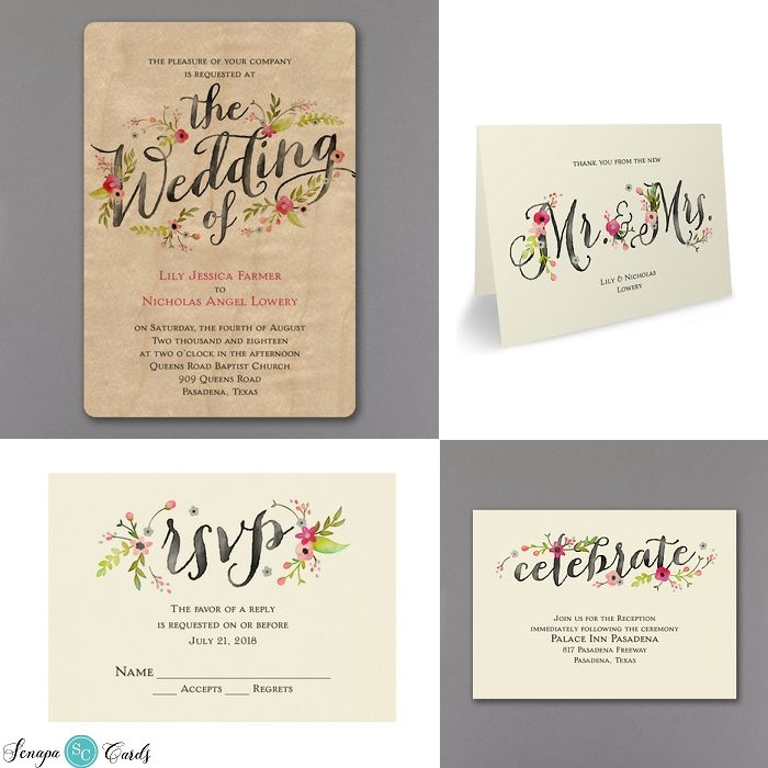 The 13 best Rustic Wedding Invitations images on Pinterest | Rustic ...