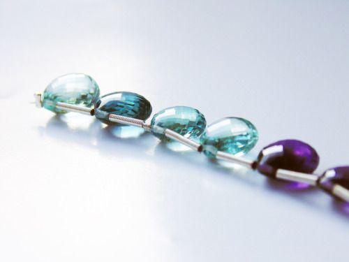 Jade-Lillie Rainbow fluorite gemstones