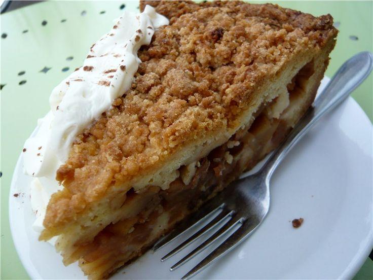 Голландский яблочный торт