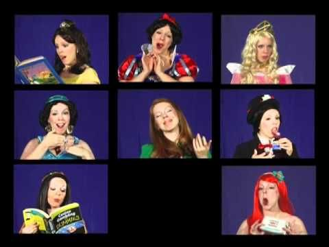 One girl's audition tape to be a Disney princess! hahaha wow
