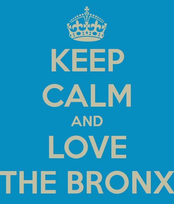 LOVE THE BRONX