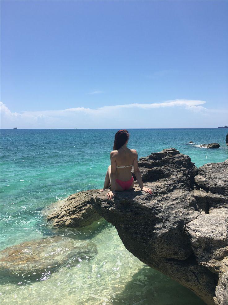 Bahamas beach,sunny day, summer