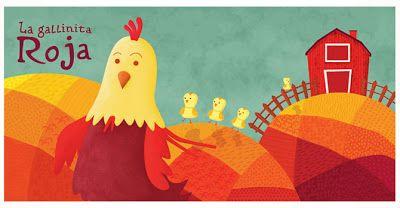 """Blog de los niños: El tesoro de las virtudes. Cuento de """"La gallinita Roja""""."""