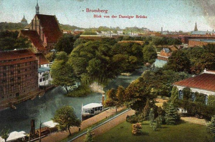 Kanał Bydgoski (Kanał Bydgoski), Bydgoszcz - 1915 rok, stare zdjęcia