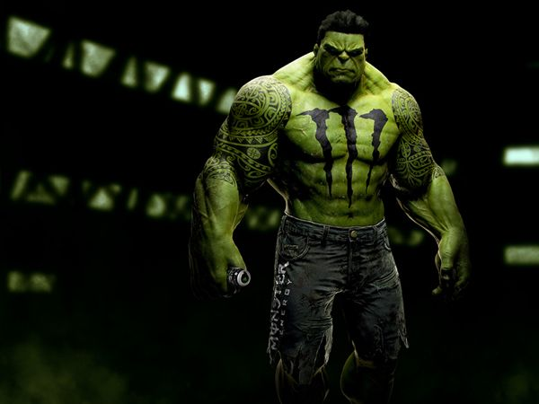 If Superheroes Were Sponsored By Brands… - Hulk #theagencysd
