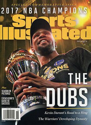 Sports Illustrated - Golden State.Warriors - 2017 NBA Champions - New