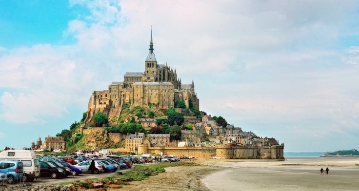 Mont Saint Michel (Normandy, France)