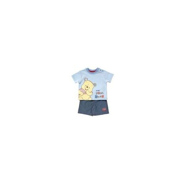 Winnie the Pooh Baby Outfit Baby George at Asda ❤ liked on Polyvore featuring baby, baby boy and baby boy clothes