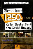 Toko Buku Sang Media : GLOSARIUM 1.250 ENTRI KAJIAN SASTRA SENI DAN SOSIA...