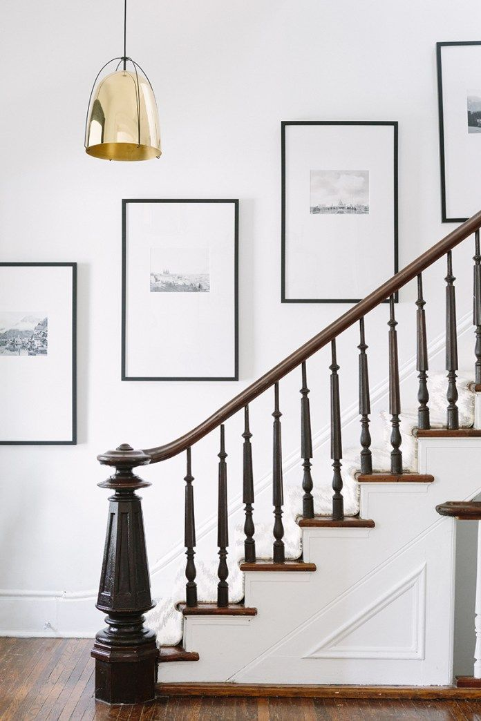 One Room Challenge 1980 S Entry Way Remodel Farmhouse Style Entry Old Home Remodel Staircase Wall Decor Foyer Decorating