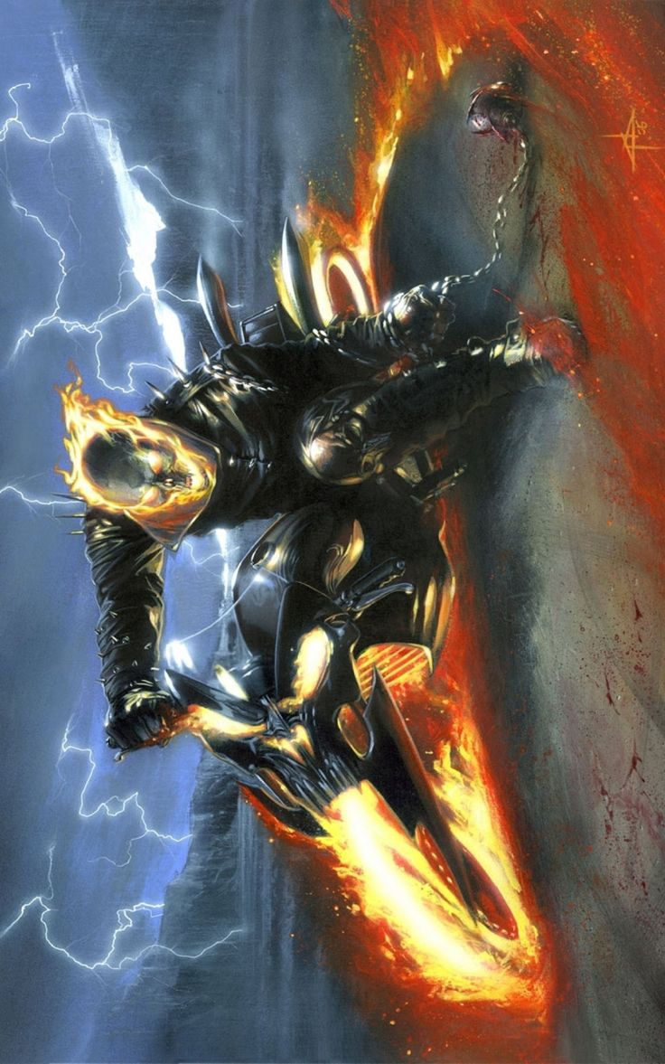 Ghost Rider by Gabriele Dell'Otto *