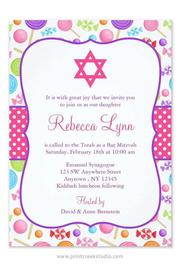 77 best Candy Themed Bat Mitzvah images on Pinterest | Anniversary ...