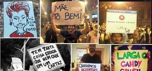 Manifestações - Blog reúne cartazes criativos dos protestos feitos em São Paulo