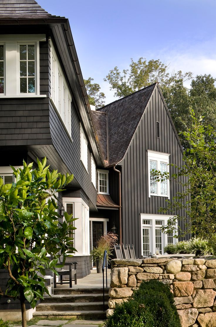 36 best Exterior house colors with brown roof images on Pinterest ...
