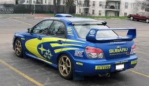Image result for subaru impreza wrx sti 2005 rally