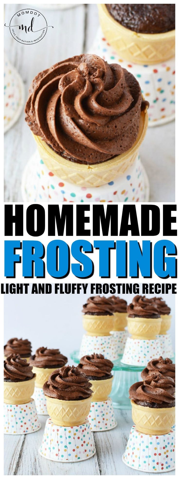 Frosting Recipe | How to make Homemade Frosting Light and Fluffy with SIMPLE Chocolate Frosting #desserts #cake #chocolate #frosting