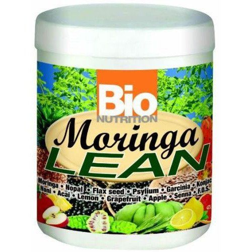 Bio Nutrition Moringa Lean - 300 grm every day at these amazing prices! Moringa Lean is a synergystic blend of nutrient rich Moringa Leaf Powder, herbs, fiber, and enzyme rich fruit extracts designed to support healthy weight management and contribute to overall health. Product characteristics include: Proprietary Blend (Moringa Powder, Flax Seed Powder, Psyllium Husk 85%, Senna Leaf P.E. 4:1, Nopal, Glucomannon (Konjac), Pineapple Powder, Apple Pectin, Noni, Acai PE 4:1, Citrus Bioflavonoid…