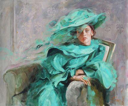 """The Lady In Green"" 𝓘𝓡è𝓝𝓔  𝓢𝓗𝓔𝓡𝓘,  ηéε εη 1968 εη υкяαιηε яσмαηтιqυε, ιмρяεssισηηηιsтε... ηεω яεηαιssαηcε...  ωωω.тυттαят... ωωω.ιяεηεsнεяι.cσм"