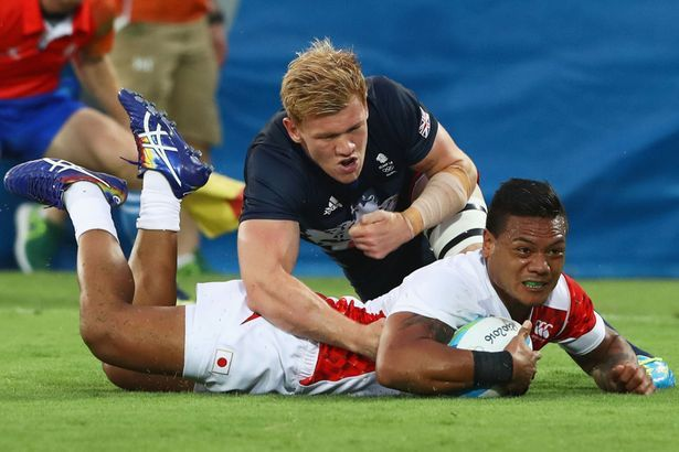 Japan 7 vs France 7 Rugby Scores Live - World - Sevens World Series - South Africa