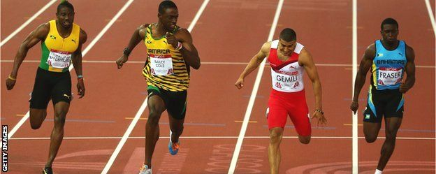 Glasgow 2014: Sprinter Adam Gemili focused on track success  Adam Gemili says he is ready to be taken seriously as a leading sprinter after winning silver in the 100m at the Commonwealth Games.