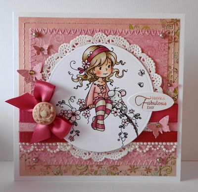 handmade card, Challenge 4 - Our Hobby House Artists
