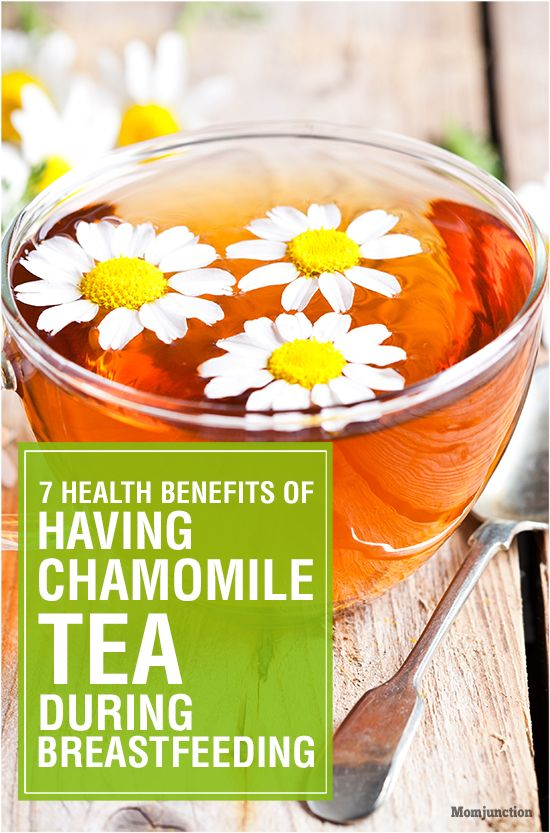 Can You Drink Chamomile Tea While Breastfeeding