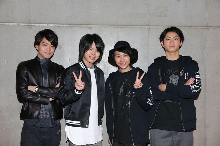 Ayumu Murase, Kaito Ishikawa, Kenta Suga, Tatsunari Kimura. | Haikyuu!!