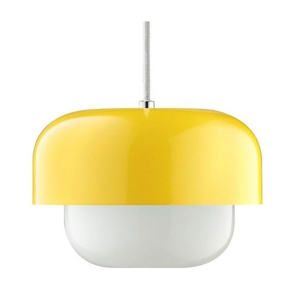 retro lighting. haipot pendant light u2013 yellow retro designer lamp 2519775 idr liked on polyvore featuring home lighting ceiling lights