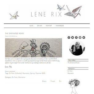 I al beskedenhed har jeg startet min egen lille blog. I er meget velkomne til at kigge forbi  www.lenerix.dk (link i profil)