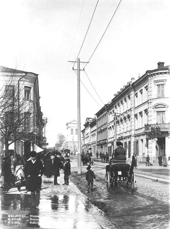 Unioninkatu, Helsinki, 1890's.