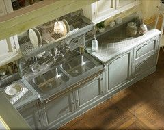 Style: Country Chic rustic-kitchen