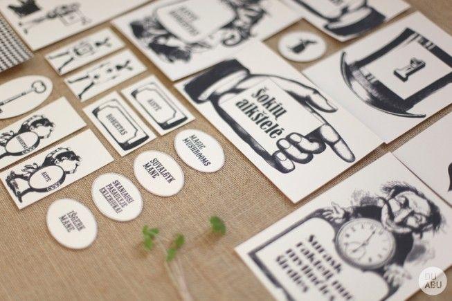 #vintage #black and white #illustration #wedding #invite #key #china paper  white #wedding stationery www.duabu.com
