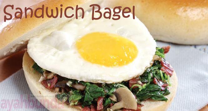 Sandwich Bagel :: Klik link di atas untuk mengetahui resep sandwich bagel