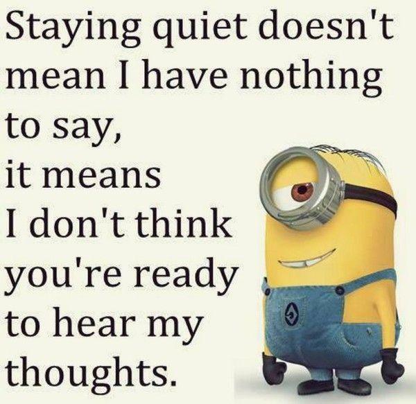 Random Amusing Minions pictures (04:04:29 PM, Thursday 18, June 2015 PDT) – 10 pics #funny #lol #humor #minions #minion #minionquotes #minionsquotes