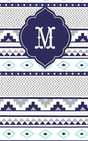 My custom monogram by May Designs @May Allen Designs on a new Fall/Winter pattern #mdpinit