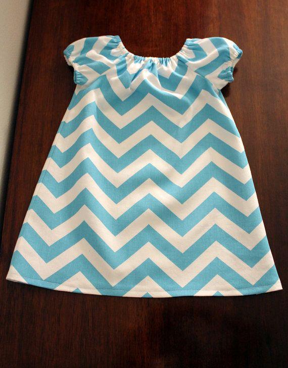 Chevron Stripe Infant Dress SizeMany Sizes by EvabelleBaby on Etsy