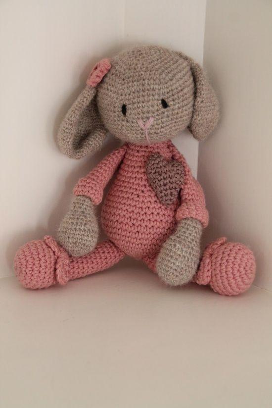 bunnie #amigurumi #kid toy