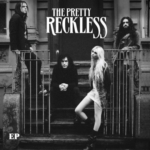 The Pretty Reckless. Love this band. Great lead female singer, great music. Got a hoodie with this on !